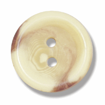 Aran 2-Hole Button - 19mm Diameter